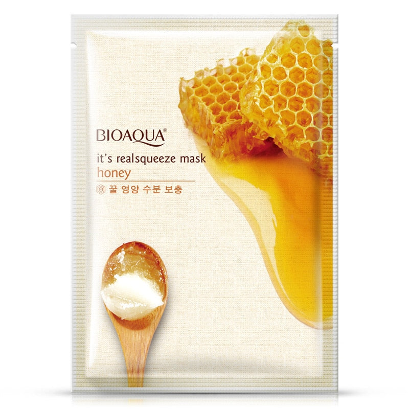 HONEY FACIAL MASK MOISTURIZING SHRINK TREATMENT