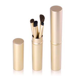 SLB 5 Pcs Brushes Set Powder Blush Foundation Eyeshadow Eyeliner Lips