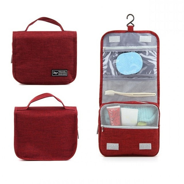 SLB Large Waterproof Makeup bag Travel Beauty Cosmetic Bag Organizer