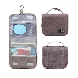 LARGE WATERPROOF MAKEUP BAG BEAUTY CASE