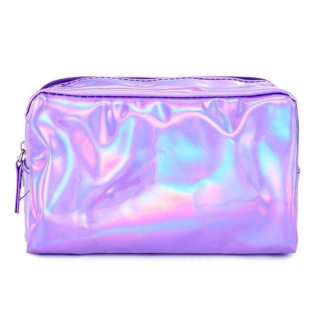 SLB Laser Cosmetic Bag Fashion Holographic Pencil Case