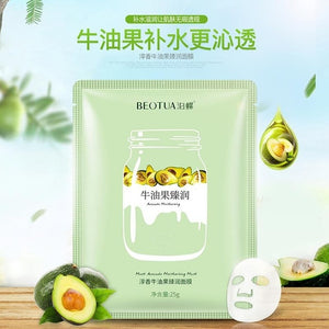 FACE MASK NATURAL FRUIT EXTRACTS HYALURONIC ACID FACIAL