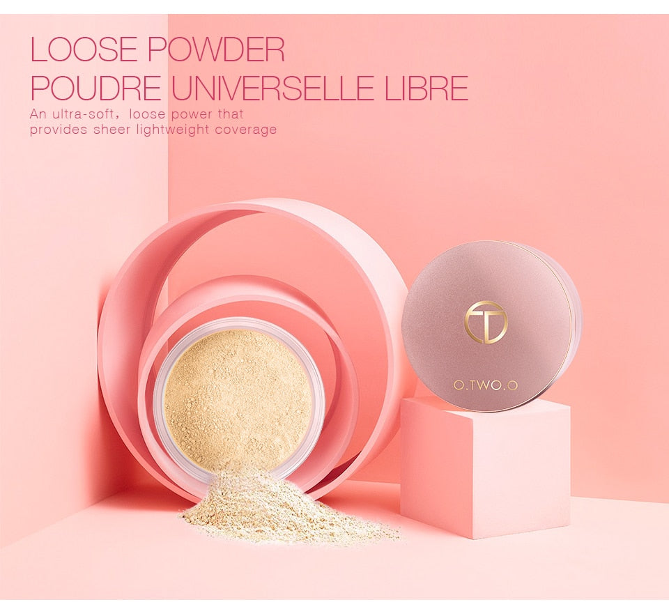 LOSE POWDER FOUNDATION CONCEALER 4 COLORS EYE SHADOW
