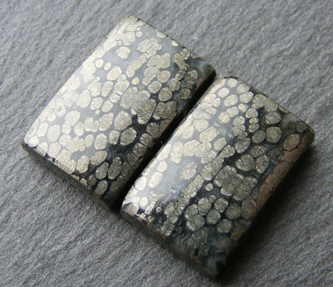 Marcasite Rectangular Cabs - Matching Pair