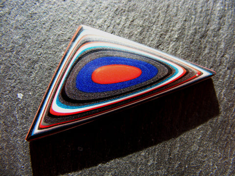 Fordite Triangular Cab