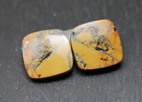 Maligano Picture Jasper Square Cabs - Pair