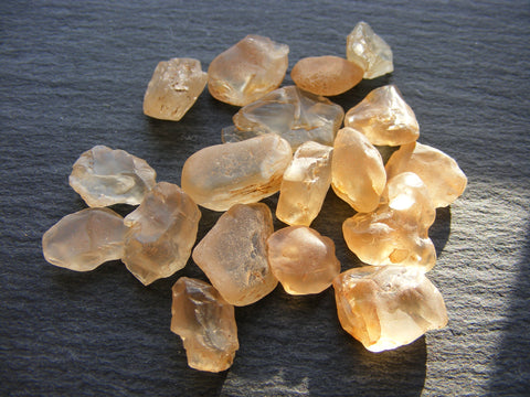 Oregon Sunstone Rough Nuggets