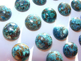 Chrysocolla Round Cabs