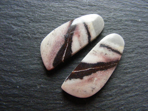 Picasso Jasper Fancy Cabs - Matching Pair
