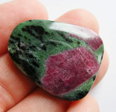 Ruby Zoisite Free Form Cab