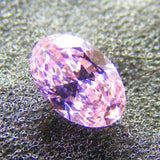 Cubic Zirconium - CZ - Pink Oval Faceted Gems - by  Signity®