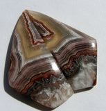 Crazy Lace Agate Fancy Cabochon - Matched Pair