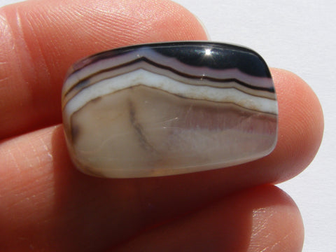 Banded Agate Rectangular Cab