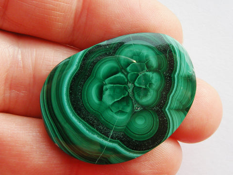 Malachite Free Form Cab