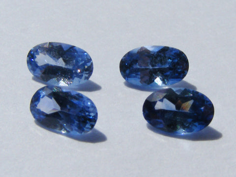 Ceylon Sapphire Oval Faceted Gems