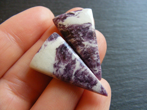 Purpurite Triangular Cabs - Matching Pair