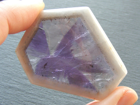 Amethyst Window Cabochon