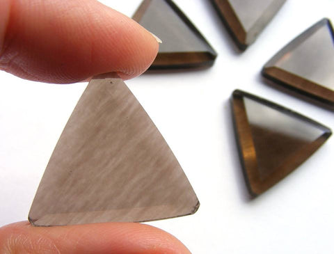 Smoky Quartz Triangular Cab