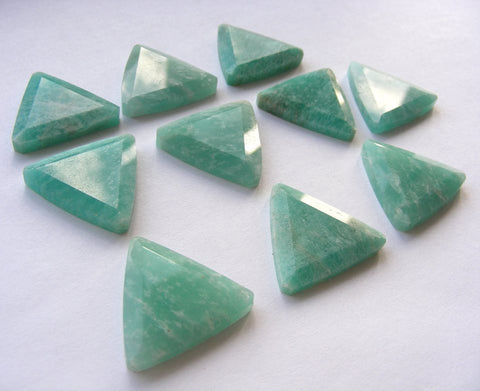 Amazonite Triangular Cabs