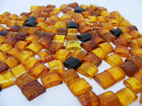 Baltic Amber Rectangular Cabs