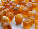 Baltic Amber Cubes