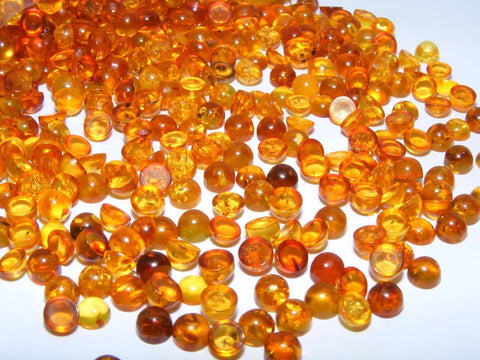 Baltic Amber Round Cabs