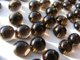 Smoky Quartz Round Cab