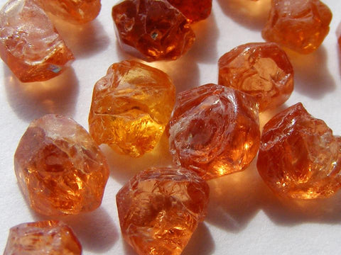 Spessartite Garnet Natural Crystals