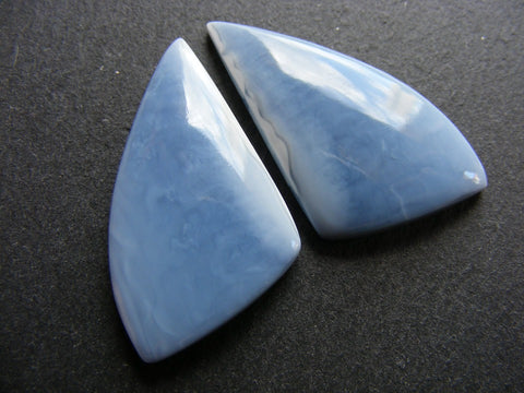 Blue Opal Fancy Cabs - Matching Pair