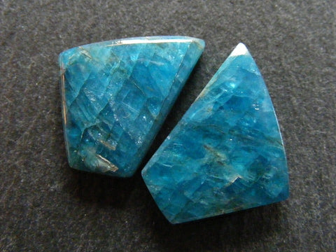 Apatite Fancy Cabs - Matched Pair