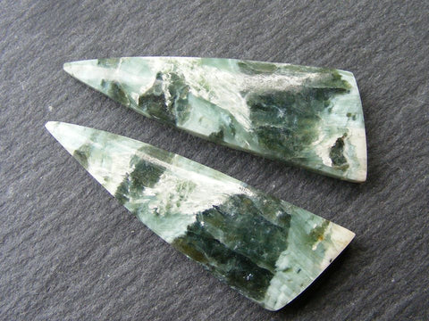 Swiss Opal Fancy Cut Cabs -  Matching Pair