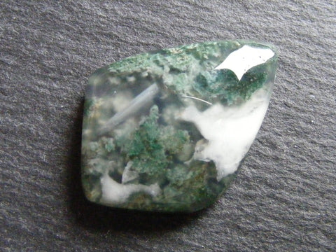 Moss Agate Fancy Cab