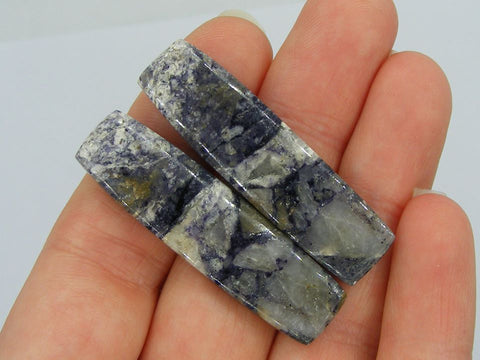 Indian Jasper Long Rectangular Cab