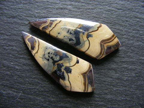 Schalenblende Fancy Cabs - Matching Pair