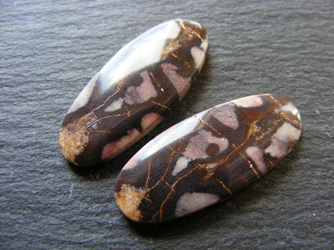 Picasso Jasper Oval Cabs