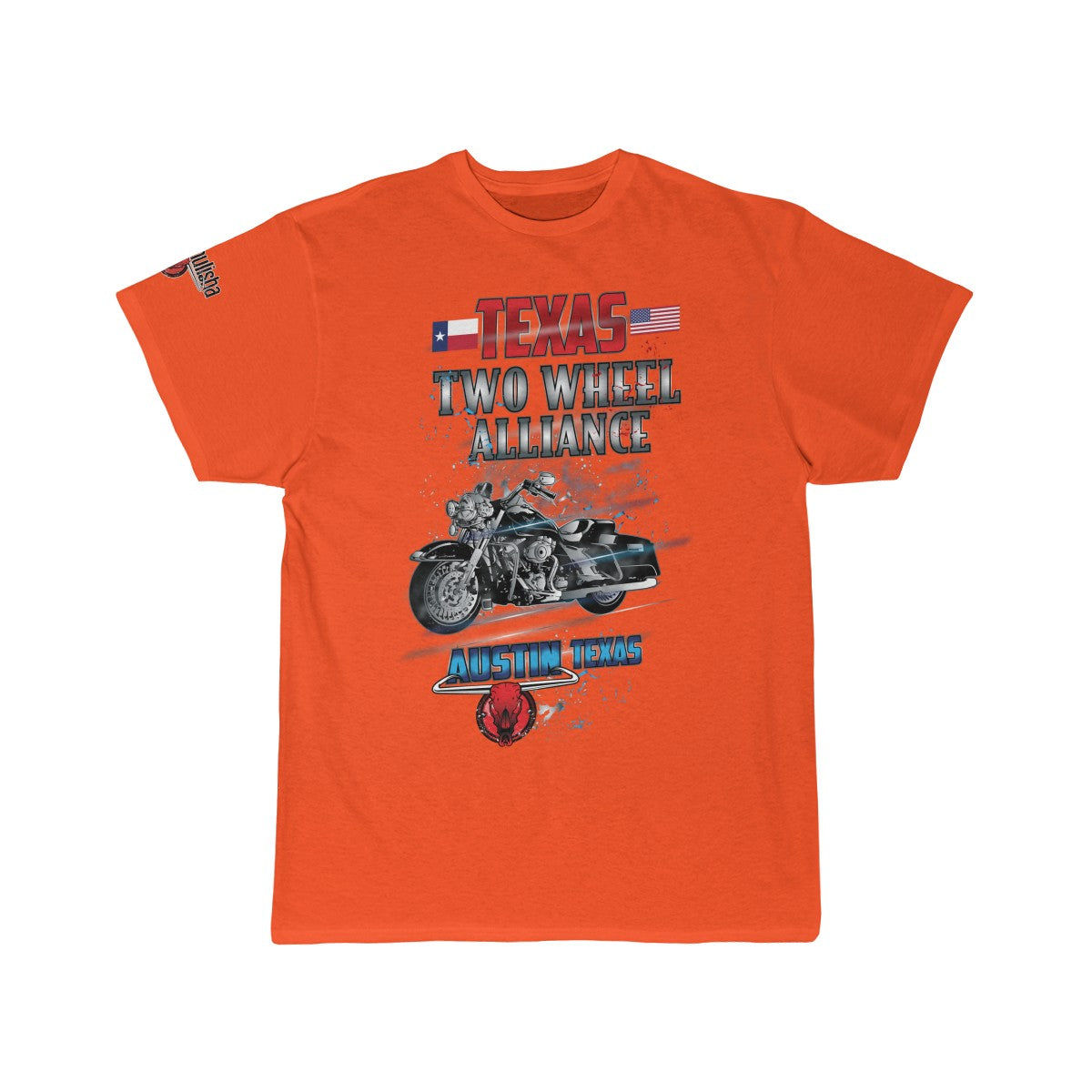 wills1mulisha Texas Two Wheel Alliance Men's Short Sleeve Tee