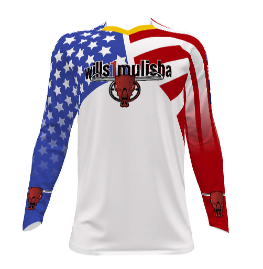 wills1mulisha MotoX Signature, Made In USA, Motocross Jersey And Pants. The American Spirit