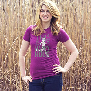 For The Runner This Is My Happy Hour Women's T-Shirt