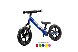 Strider - 12 Sport Balance Bike, Ages 18 Months to 5 Years, 6 Colors Available