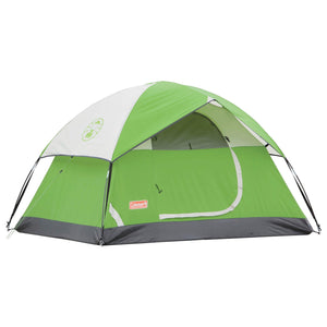Coleman Sundome Tent, Available In Green Or Navy/Grey, 2 Thru 6 Person Capacity