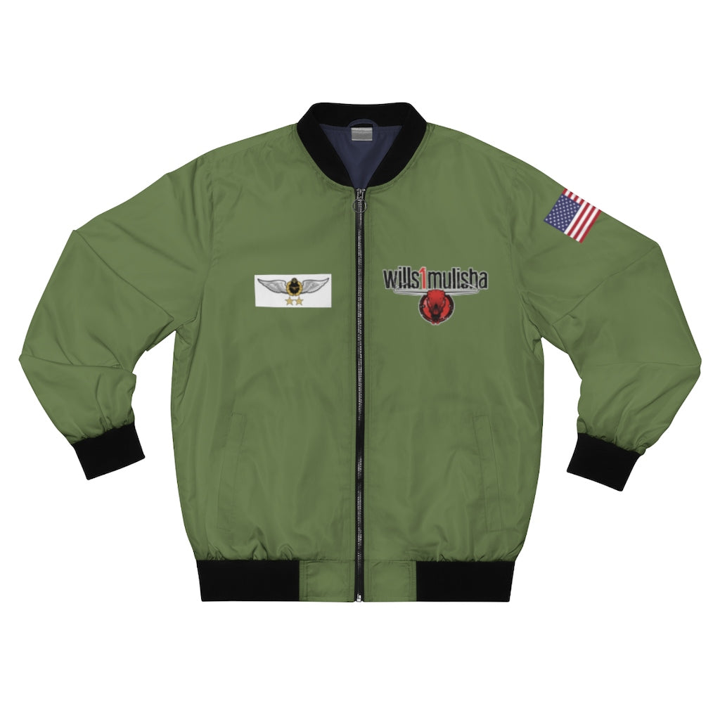 wills1mulisha Unisex Bomber Jacket