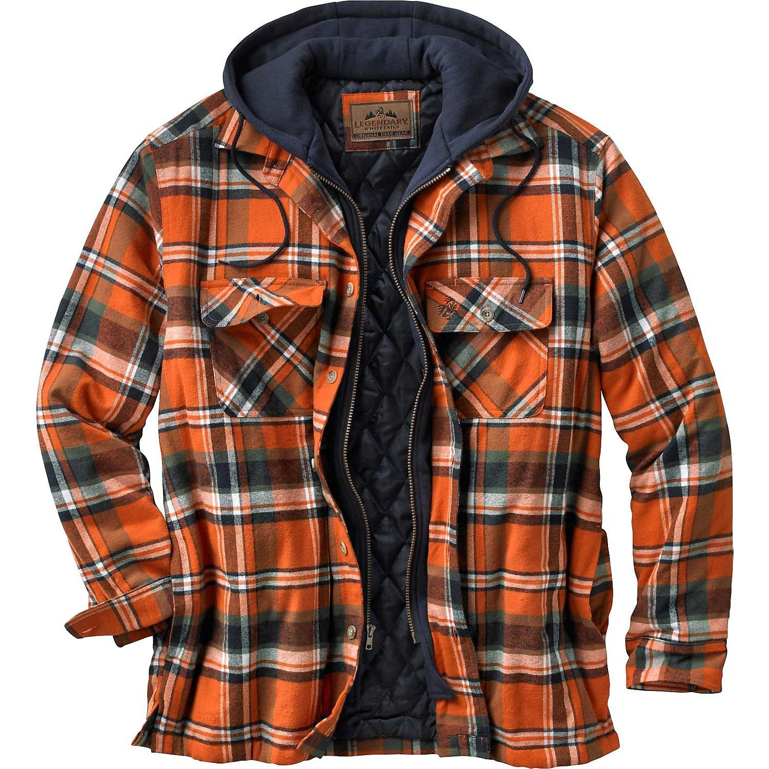 Legendary Whitetails Maplewood Hooded Shirt Jacket, 4 Colors To Choose From