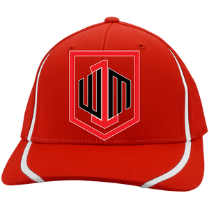 W1M Golf Flexfit Colorblock Embroidered Cap, 9 Colors And 3 Different Sizes To Choose From