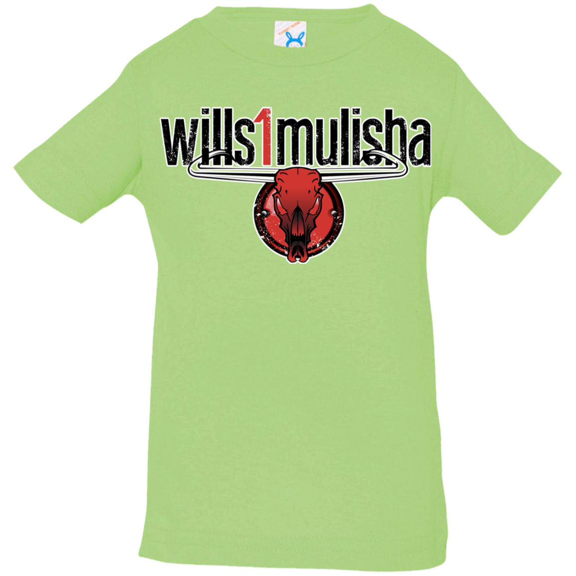 wills1mulisha 100% Combed Ringspun Cotton Fine Infant Jersey T-Shirt