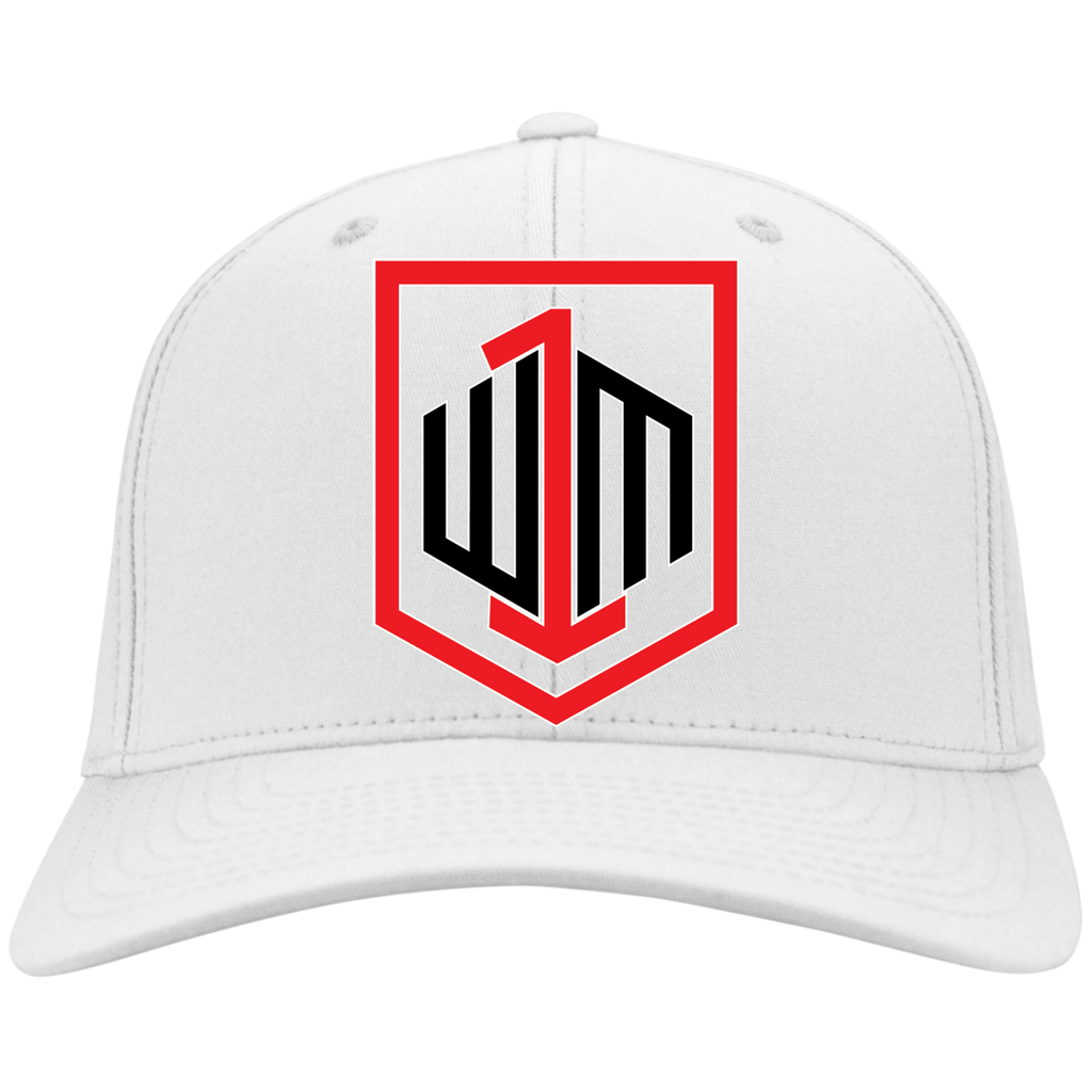 W1M Golf Flex Fit Twill Embroidered Baseball Cap. 6 Colors and 2 Sizes to Choose From