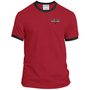 wills1mulisha Vintage Port & Co. Ringer Tee