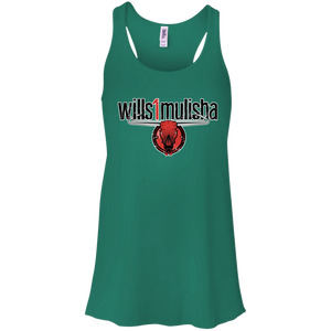 wills1mulisha Bella + Canvas Flowy Racerback Tank
