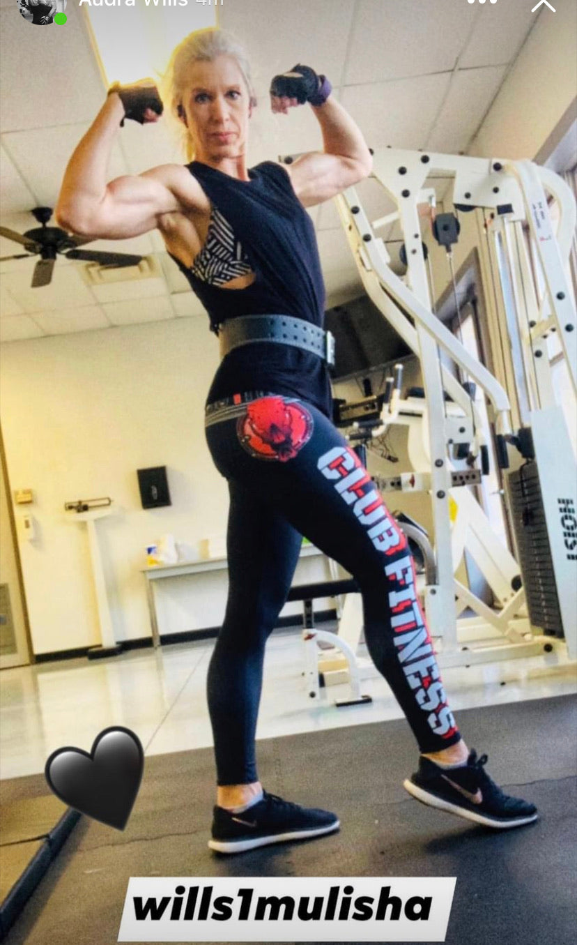 wills1mulisha 2021 CLUB FITNESS Leggings Design Two