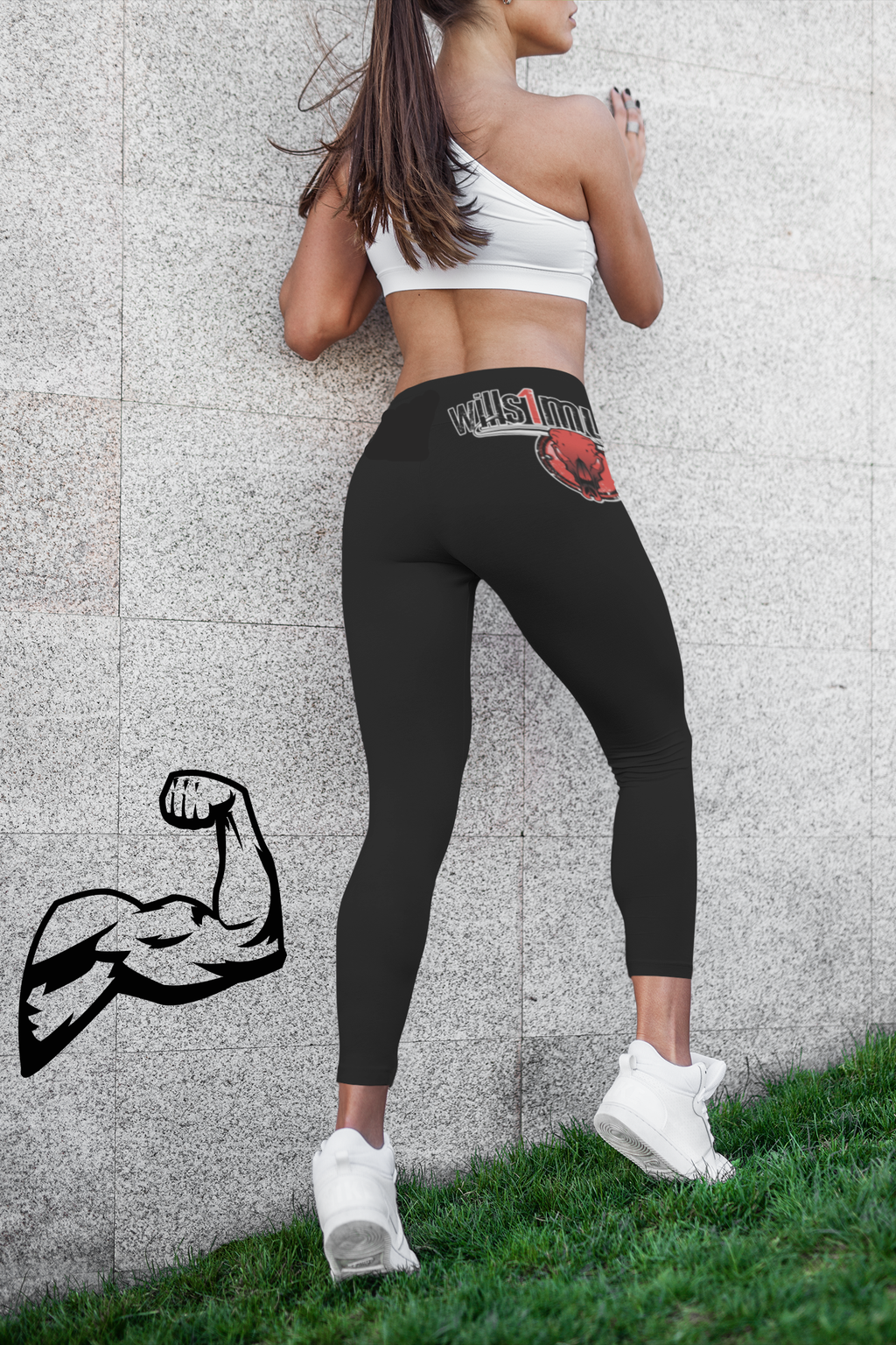 wills1mulisha 2021 CLUB FITNESS Leggings Design One