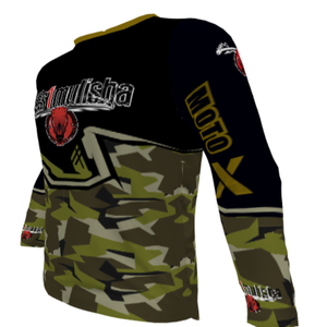 wills1mulisha MotoX Signature, Made In USA, 2020 Motocross Jersey With Name/Number, HUNTER